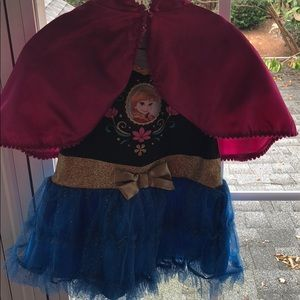 Other - Baby Anna frozen costume with cape sz 18months